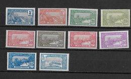 Guadeloupe N° 77 à 88** - Guadeloupe (1884-1947)