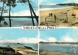 22 - Sables D'or Les Pins - Multivues - Scènes De Plage - Etat Léger Pli Visible - Voir Scans Recto-Verso - France
