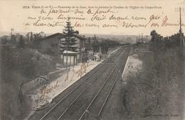 VERN Panorama De La Gare (dans Le Lointain Le Clocher De Corp Nuds) - France