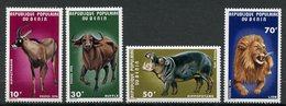 Bénin, Yvert 373/376**, MNH - Benin – Dahomey (1960-...)