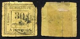 Colonie Française, Guadeloupe Taxe N°10 Oblitéré, Qualité : En L'état ! - Guadeloupe (1884-1947)