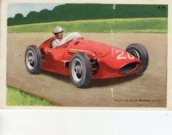 Maserati 250F Grand Prix  -  Voiture De Course I  -  Carte Postale Tobler - Grand Prix / F1