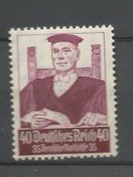 Germany Empire 1934  Mi.Nr.: 564 Professions 40 Pfg Mint Hinged X, Highest Value - Germany