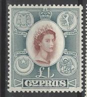 Cipro - 1955 - Nuovo/new MNH - Mi N. 178 - Cipro (...-1960)
