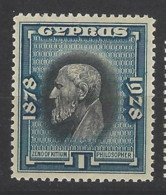 Cipro - 1928 - Nuovo/new MNH - 50th Anniv. Of British Rule - Mi N. 109 - Zypern (...-1960)
