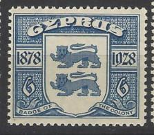 Cipro - 1928 - Nuovo/new MNH - 50th Anniv. Of British Rule - Mi N. 113 - Cipro (...-1960)