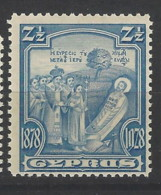 Cipro - 1928 - Nuovo/new MNH - 50th Anniv. Of British Rule - Mi N. 111 - Cipro (...-1960)