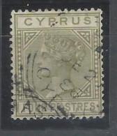 Cipro - 1882 - Usato/used - Queen Victoria - Mi N. 20 - Cipro (...-1960)