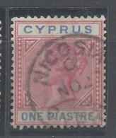 Cipro - 1894 - Usato/used - Queen Victoria - Mi N. 28 - Cipro (...-1960)