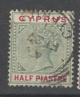 Cipro - 1894 - Usato/used - Queen Victoria - Mi N. 26 - Cipro (...-1960)