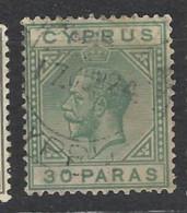 Cipro - 1921 - Usato/used - King Georg V - Mi N. 72 - Cipro (...-1960)