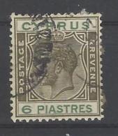 Cipro - 1924 - Usato/used - King Georg V - Mi N. 95 - Cipro (...-1960)