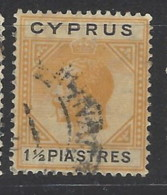 Cipro - 1921 - Usato/used - King Georg V - Mi N. 75 - Cipro (...-1960)