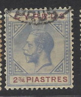 Cipro - 1921 - Usato/used - King Georg V - Mi N. 78 - Cyprus (...-1960)
