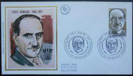 2148 France Louis Armand Premier Jour Cruseilles 74 Haute Savoie 23 Mai 1981 - 1980-1989