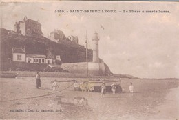 22 - SAINT BRIEUC LEGUE / LE PHARE A MAREE BASSE - Saint-Brieuc