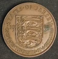 JERSEY - 1/24 SHILLING 1931 - George V - 3eme Type - KM 15 - ONE·TWENTYFOURTH·OF·A·SHILLING - Jersey
