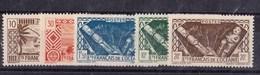 Océanie N 150 à 154** - Unused Stamps