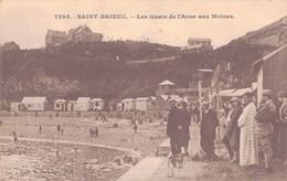 22 - SAINT BRIEUC / LES QUAIS DE L'ANSE AUX MOINES - Saint-Brieuc