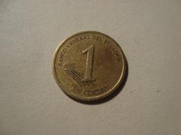 MONNAIE EQUATEUR 1 CENTAVO 2000 - Ecuador