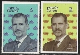 2020-ED. 5375 Y 5376 - BÁSICA FELIPE VI '' A '' Y '' B ''-NUEVO- - 1931-Hoy: 2ª República - ... Juan Carlos I