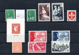 B291 Bel Ensemble De Timbres ** Pour Une Côte De 220 Euros. A Saisir !!!. - Stamps