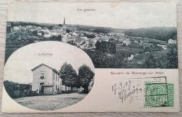 Souvenir De Boevange Sur Attert * La Station - Train - Vue Générale - Ansichtskarten