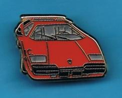 1 PIN'S //  ** SUPERBE / LAMBORGHINI COUNTACH / 1971 ** . (Ballard Collection Doré à L'OR Fin) - Ferrari