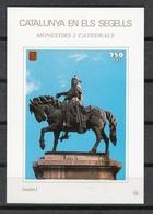 CATALUNYA EN ELS SEGELLS - HOJITA Nº 94 - MONUMENT A JAUME I - Fogli Ricordo