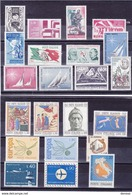 ITALIE 1965 Année Complète Yvert 916-937 NEUF** MNH Cote : 8,05 Euros - 1946-.. République