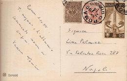 """(St.Post.).Regno.V.E.III.1915.-2c """"Unità D'Italia"""" + Altri Su Cartolina (30-20) - 1900-44 Victor Emmanuel III"""