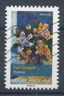 1121 (o) Fleurs - Pivoines De Gauguin - Adhesive Stamps