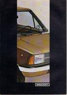 < Automobile Auto Voiture Car >> Publicité Folder Dépliant 12p, Innocenti 90L & De Tomaso, Allemagne 03/80 - Old Paper