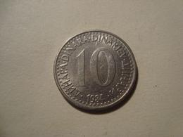 MONNAIE YOUGOSLAVIE 10 DINARA 1984 - Yugoslavia
