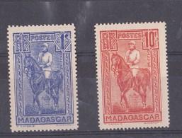 Madagascar N° 183 à 187** - Madagascar (1889-1960)