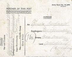 PRIGIONIERI POW CAMP 117 WALDERSLADE CHATHAM GREAT BRITAIN 1946 TAUSCHA GERMANY - 1900-44 Victor Emmanuel III