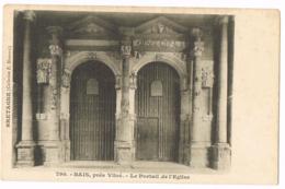 790 Bais Près De Vitré - Le Portail De L'Église - Vierge. - Phot./Ed. : Karten Bost - Otros Municipios