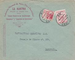 1937 COVER LOCALES LINARES - 1931-Aujourd'hui: II. République - ....Juan Carlos I