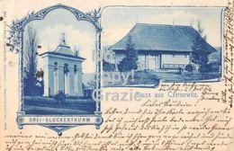 Czernowitz - Чернівці - Tscherniwzi - Gruss Aus - Drei Glockenthurm - St. Nikolaus-Kirche - 1899 - Ukraine