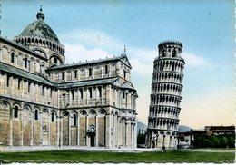 Pisa - Torre Pendente E Abside Del Duomo - Viaggiata 1954 - Pisa