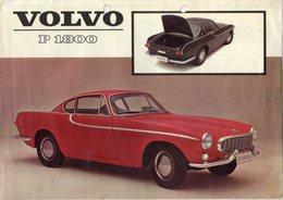 < Automobile Auto Voiture Car >> Publicité Folder Feuille 2p. Volvo P1800, Hollande 11/1962 - Old Paper