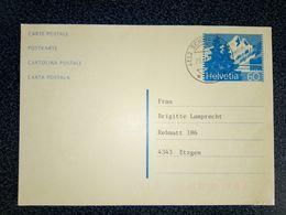 CARTE LETTRE 1993 - Switzerland