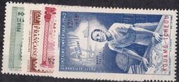 Kouang-T'chéou  N°1 à 4**P.A - Unused Stamps
