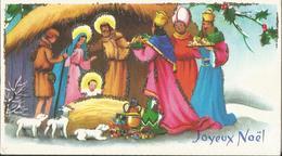MIGNONNETTE ILLUSTRATEUR MIGNONNETTE BONNE ANNEE JOYEUX NOEL ILLUSTRATEUR  IDA PAILLETTE  CRECHE NATIVITE ENFANT JESUS - Non Classés