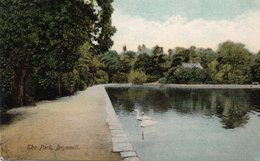 Carte Postale Ancienne - Circulé - GALLES - BRYNMILL - THE PARK - Pays De Galles