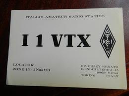 20047) ITALIAN AMATEUR RADIO STATION TORINO SUSA - CB-Funk