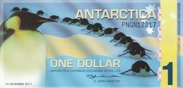 ANTARCTICA 1 DOLLAR 2011 PRIVATE ISSUE - Andere