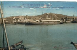 N°6123 T -cpa Cherbourg -avant Port Du Commerce Et Transbordeurs- - Cherbourg