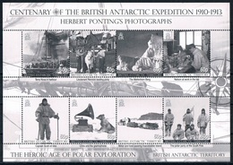Bloc Sheet  Explorateurs  Antarctique  Polar Explorers    Neuf MNH **  British Antartic Territory  Territoire Antartique - Territoire Antarctique Britannique  (BAT)