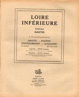 ANNUAIRE - 44 - Département Loire Inférieure - Année 1949 - édition Didot-Bottin - 192 Pages - Annuaires Téléphoniques